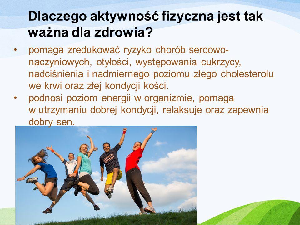 Dlaczego aktywność fizyczna jest tak ważna dla zdrowia