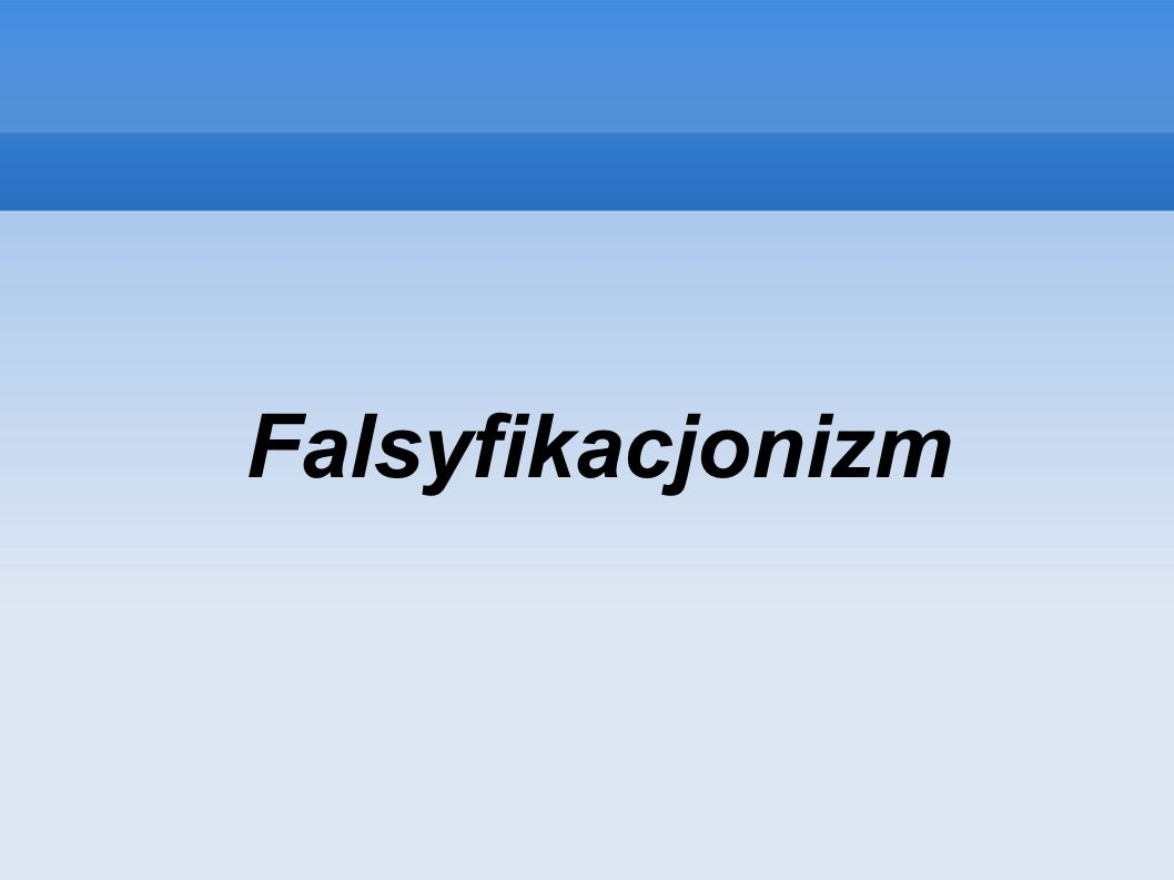 Falsyfikacjonizm Theme created by Sakari Koivunen and Henrik Omma