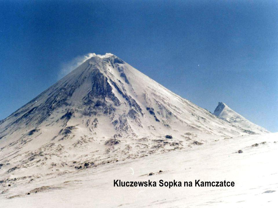 Kluczewska Sopka na Kamczatce