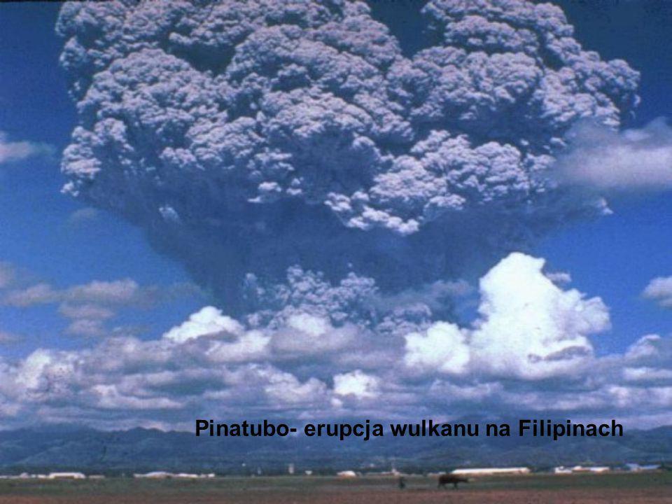 Pinatubo- erupcja wulkanu na Filipinach