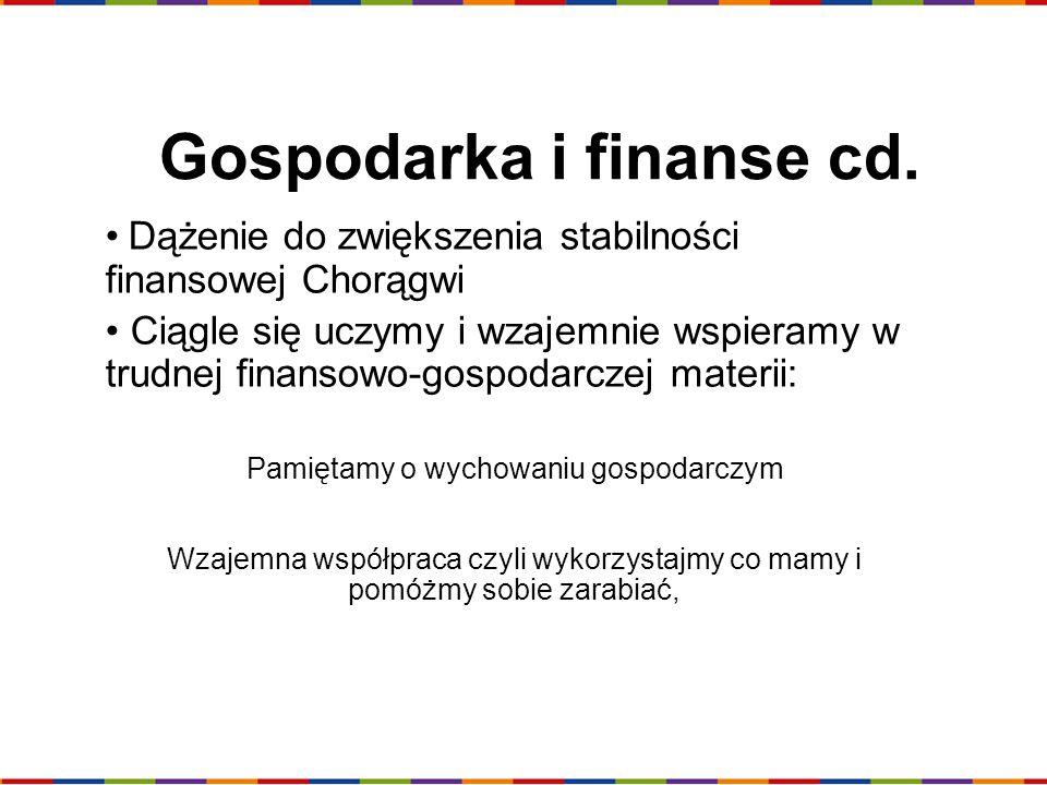 Gospodarka i finanse cd.