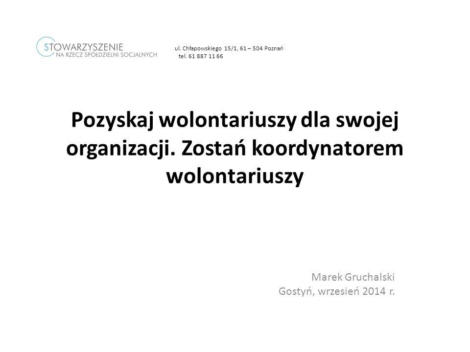Marek Gruchalski Gostyń, wrzesień 2014 r.