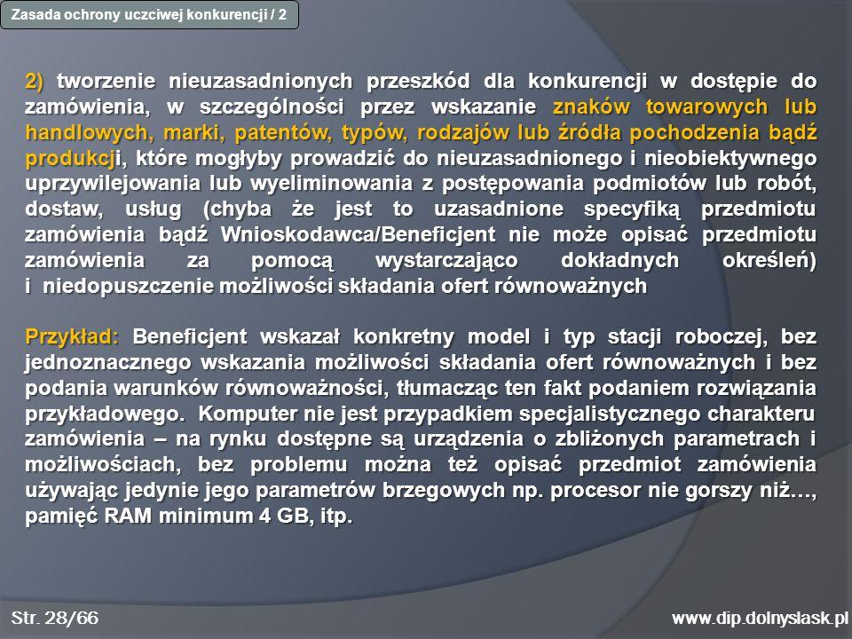 Zasada ochrony uczciwej konkurencji / 2