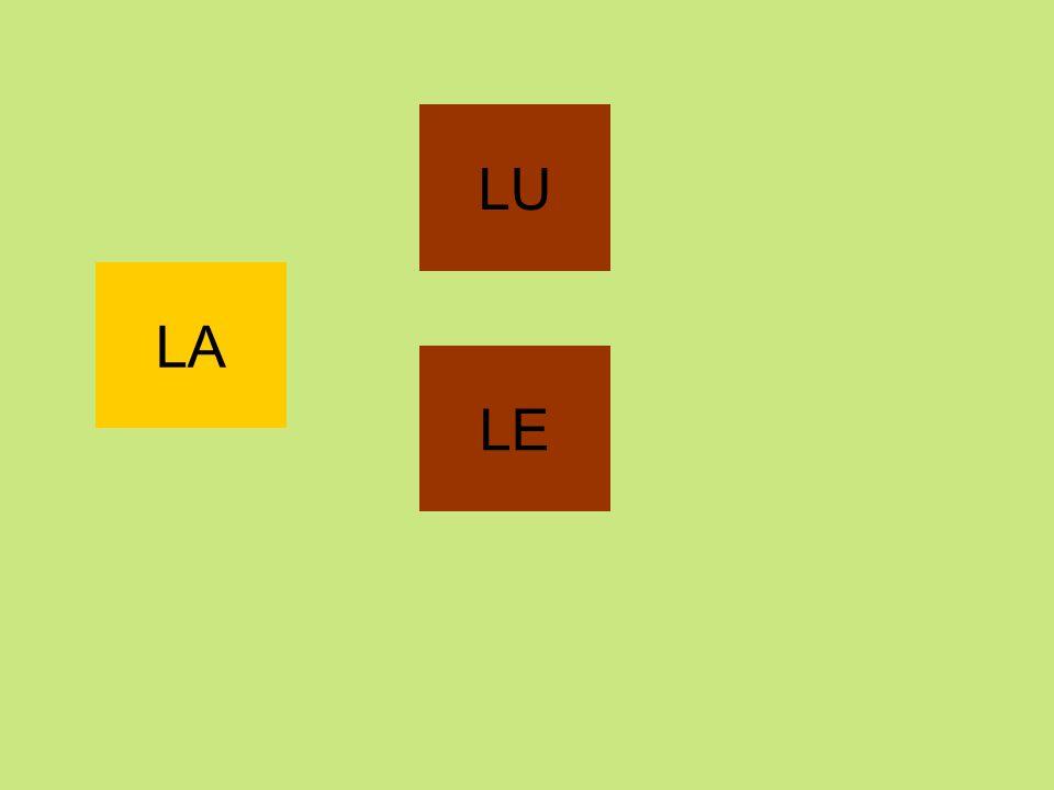 LU LA LE