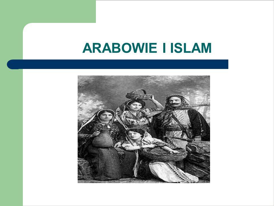 ARABOWIE I ISLAM