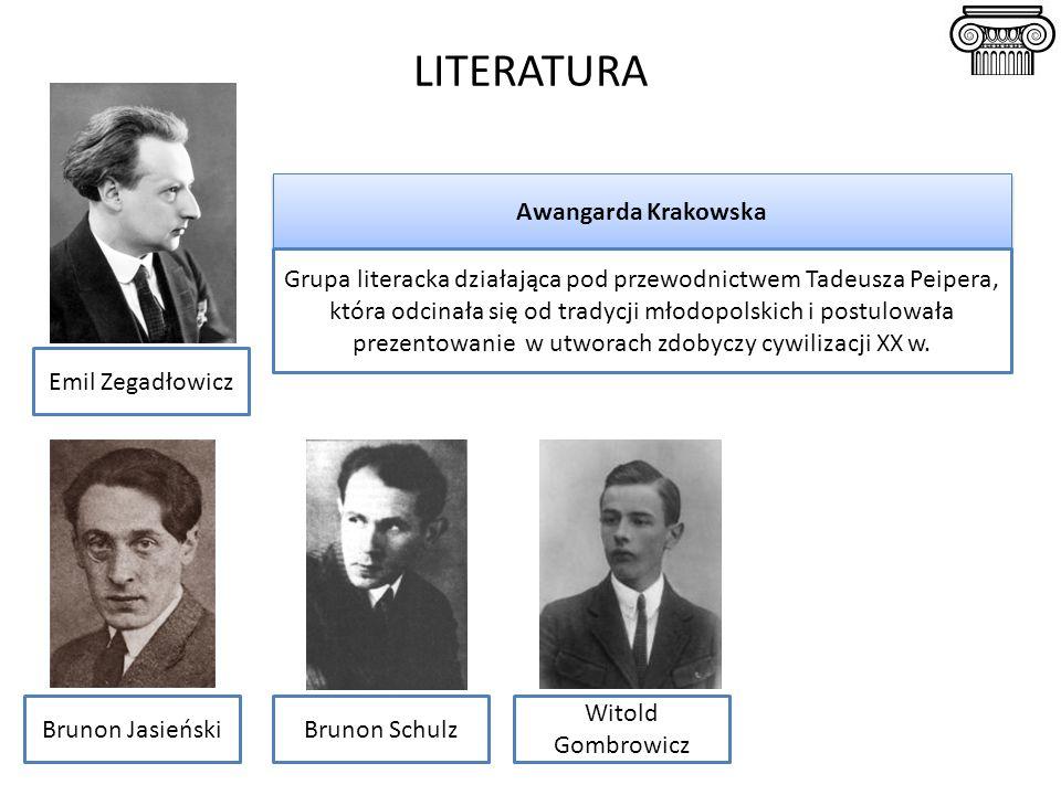 LITERATURA Awangarda Krakowska