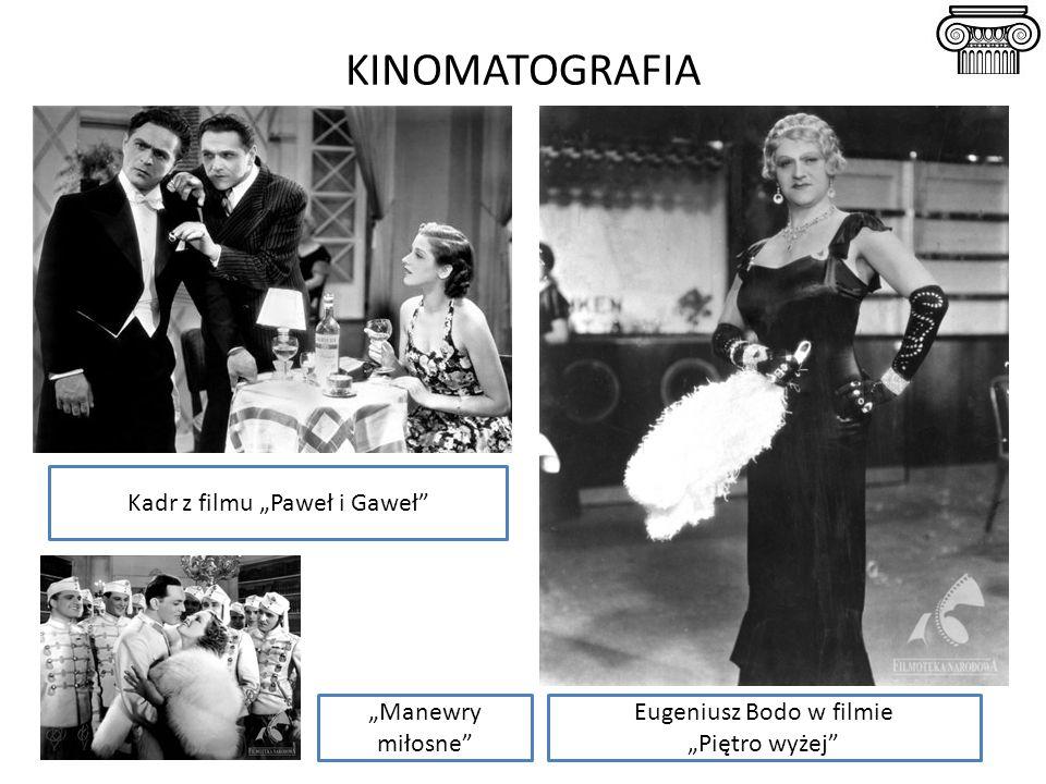 """KINOMATOGRAFIA Kadr z filmu """"Paweł i Gaweł """"Manewry miłosne"""