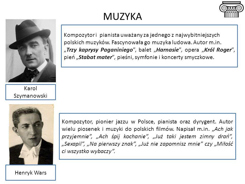 MUZYKA Kompozytor i pianista uważany za jednego z najwybitniejszych