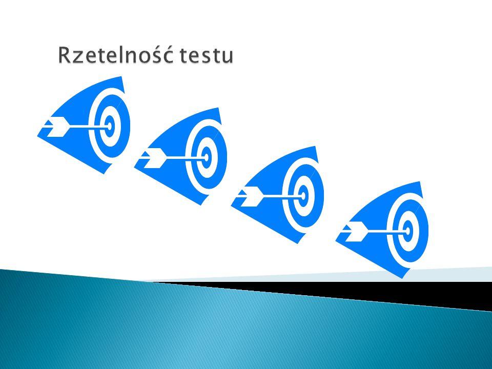 Rzetelność testu