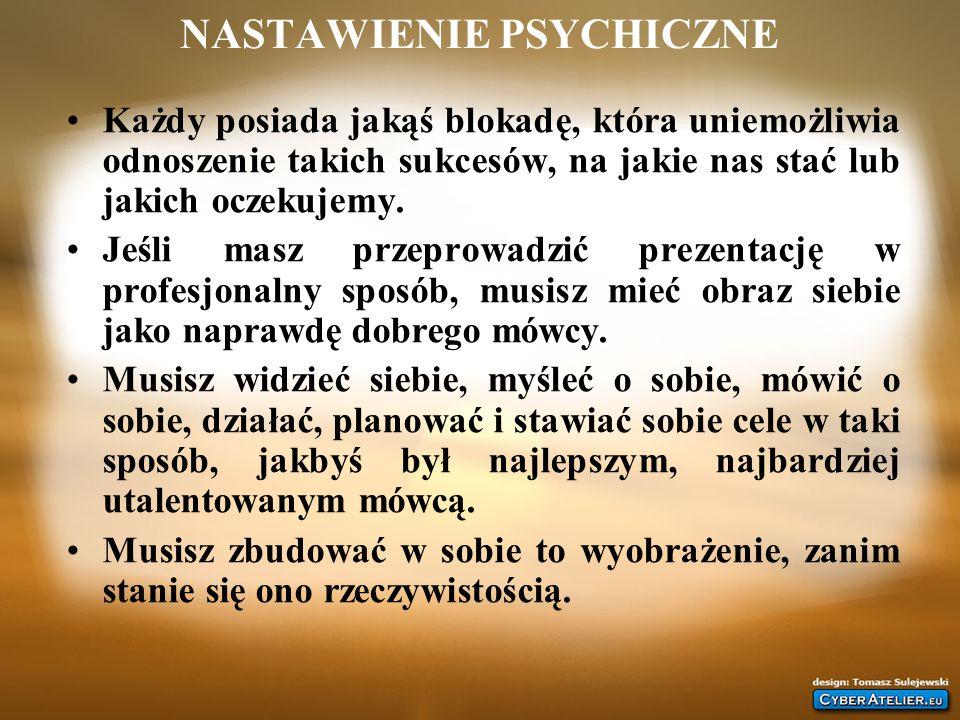 NASTAWIENIE PSYCHICZNE