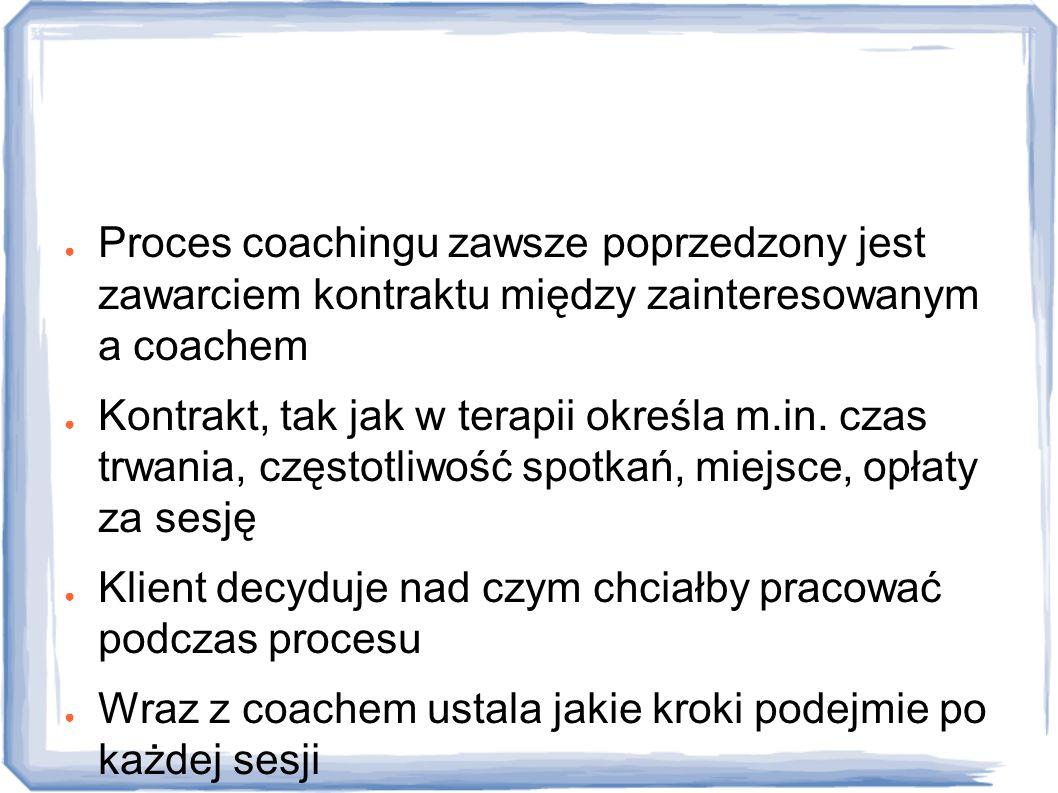 Jak przebiega proces coachingu