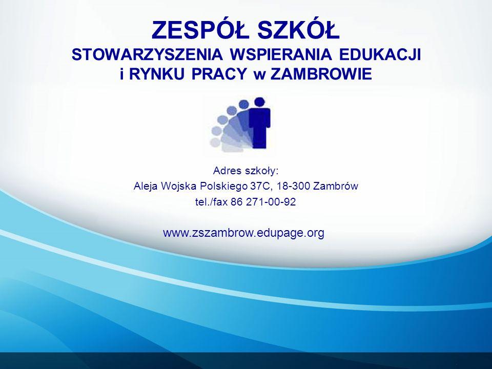 Aleja Wojska Polskiego 37C, 18-300 Zambrów