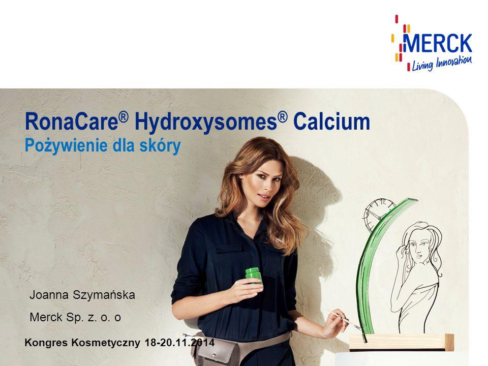 RonaCare® Hydroxysomes® Calcium Pożywienie dla skóry
