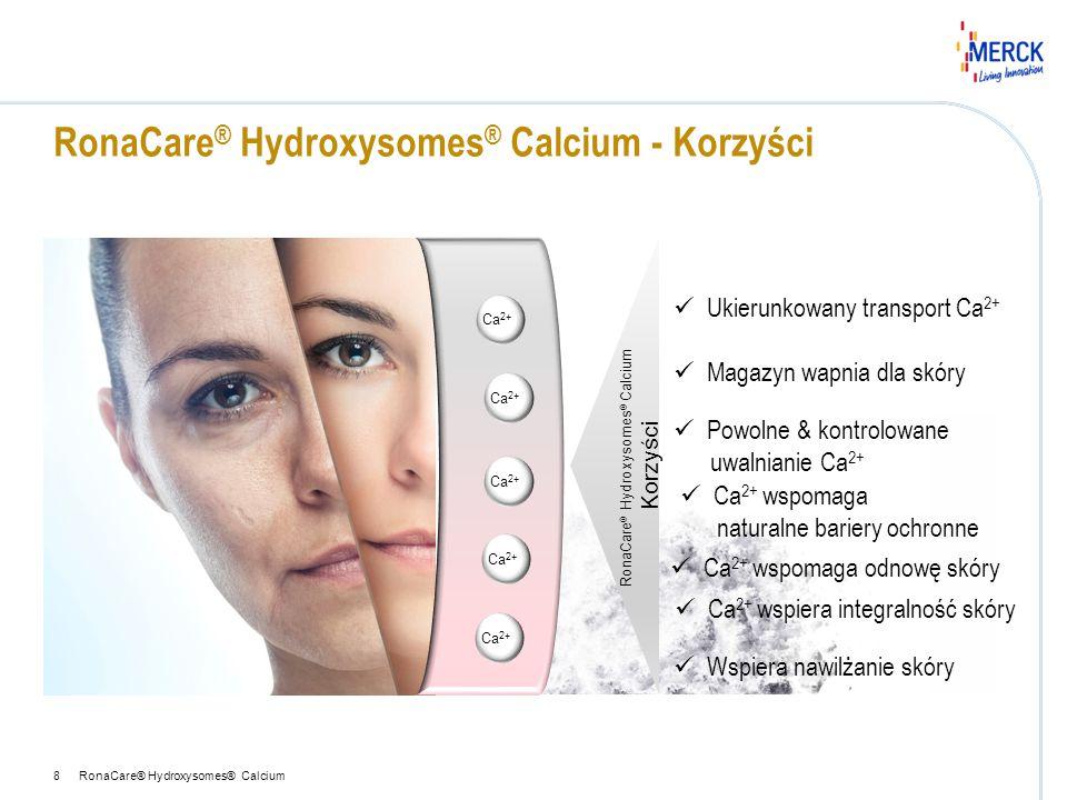 RonaCare® Hydroxysomes® Calcium - Korzyści