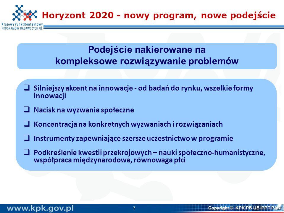 Horyzont 2020 - nowy program, nowe podejście