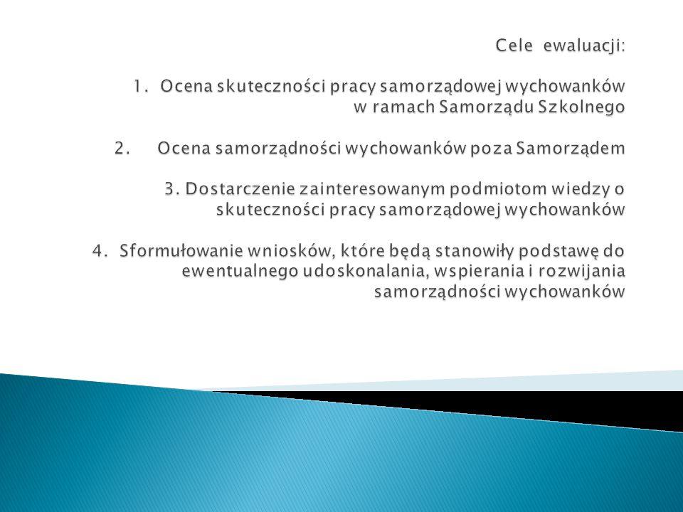 Cele ewaluacji: 1.