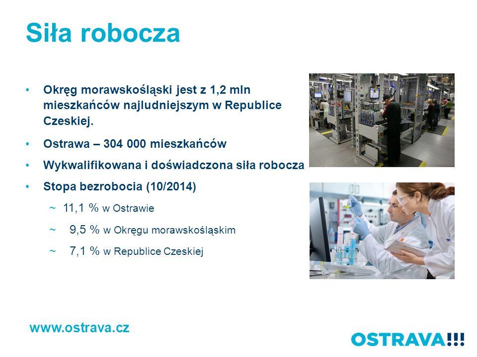 Siła robocza www.ostrava.cz