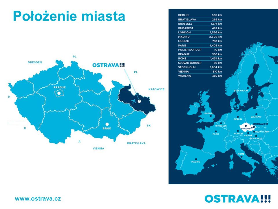 Położenie miasta www.ostrava.cz