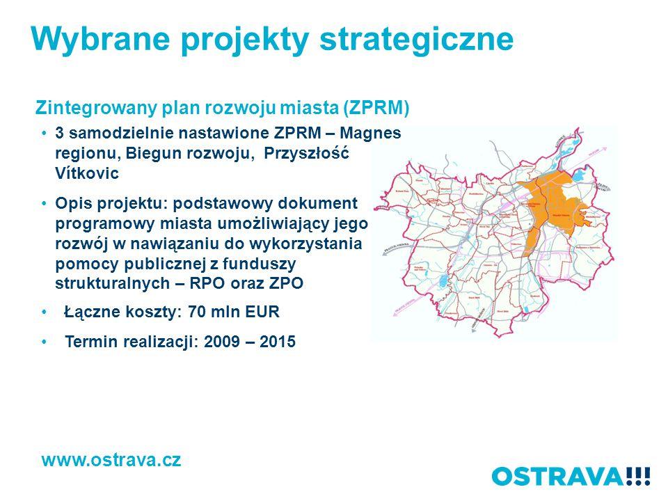 Wybrane projekty strategiczne