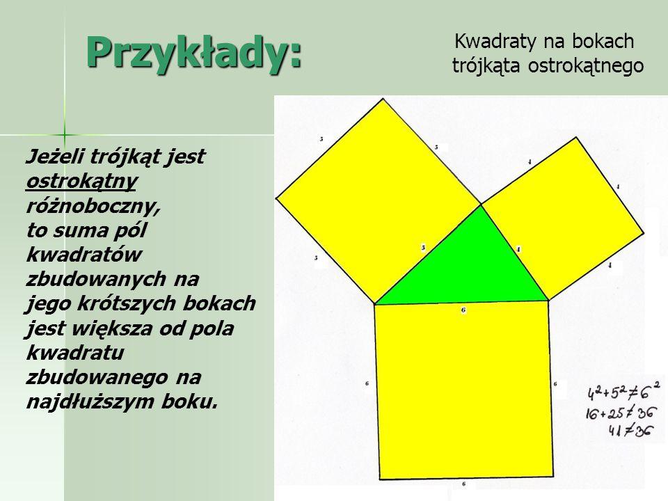 trójkąta ostrokątnego