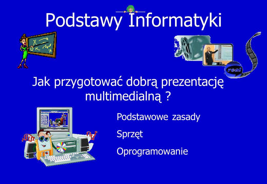 Jak przygotować dobrą prezentację multimedialną