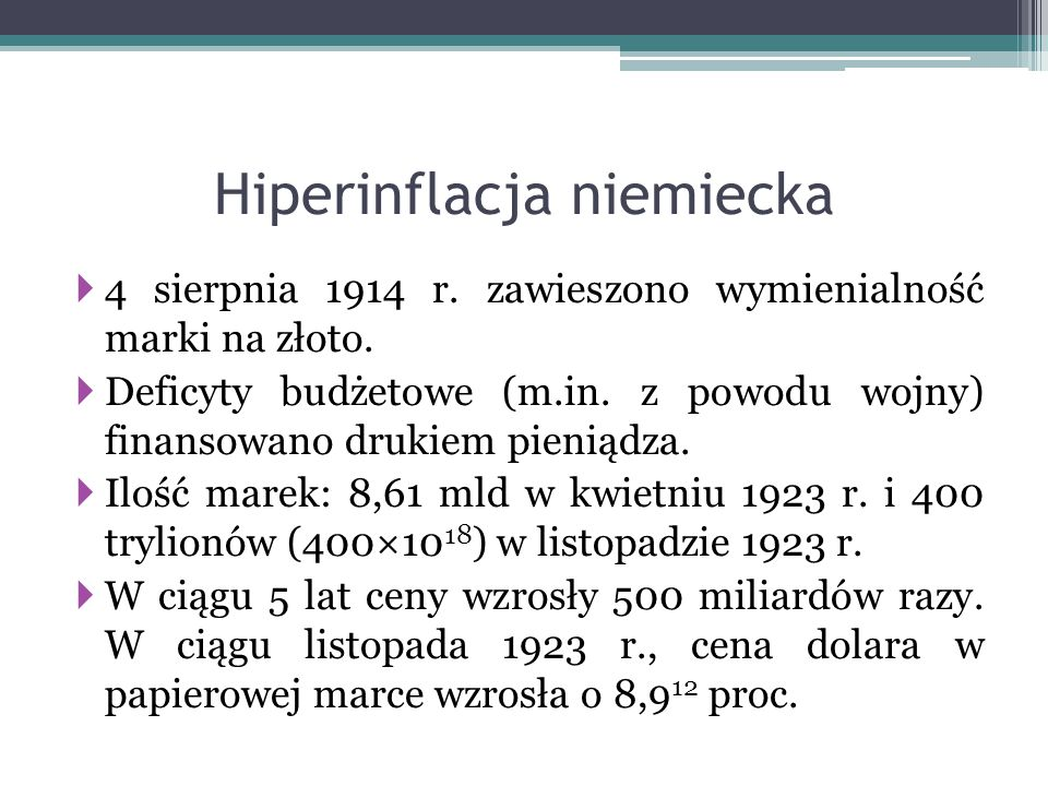 Hiperinflacja niemiecka