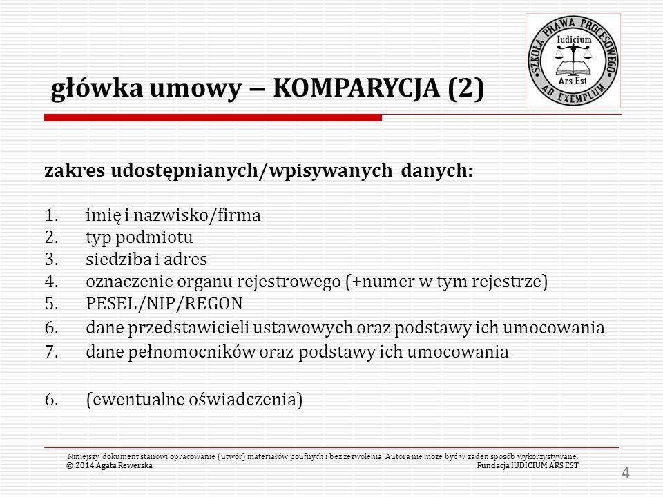 główka umowy – KOMPARYCJA (2)