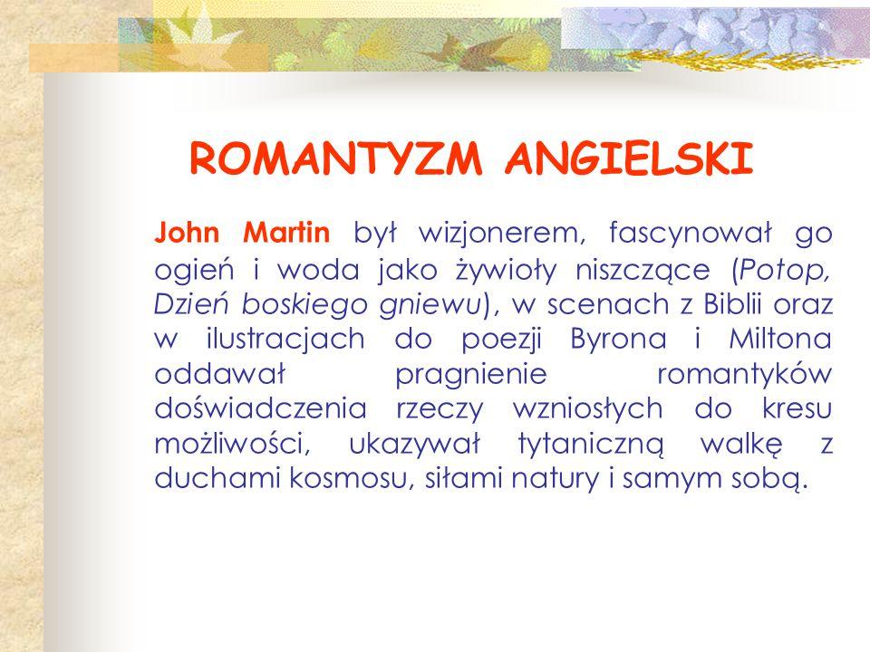 ROMANTYZM ANGIELSKI