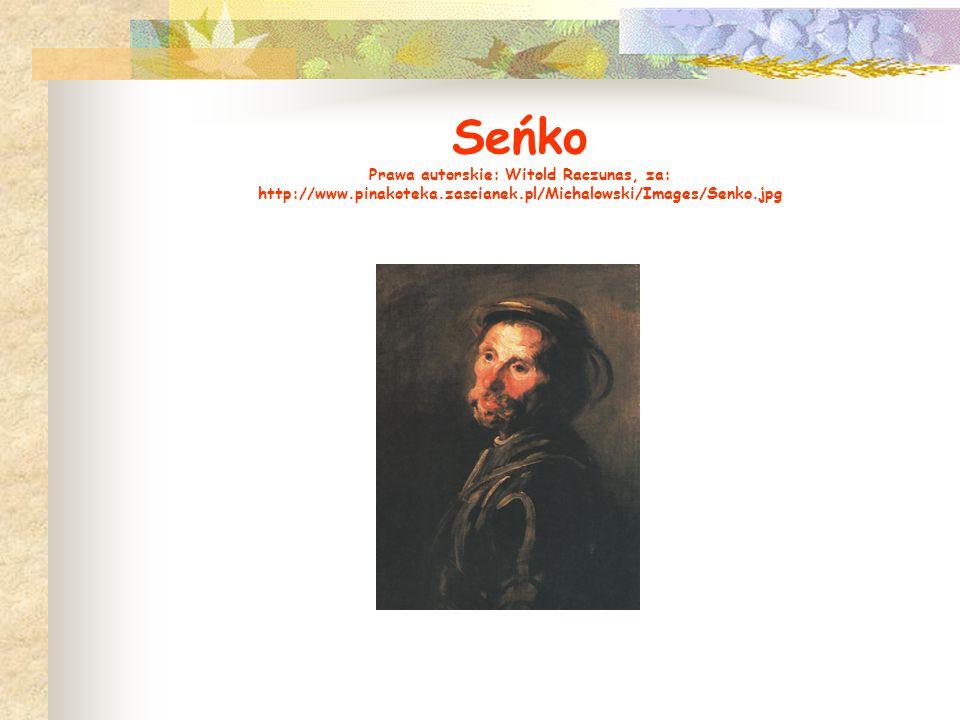 Seńko Prawa autorskie: Witold Raczunas, za: http://www. pinakoteka