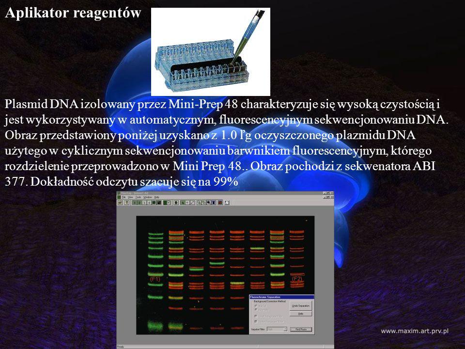 Aplikator reagentów
