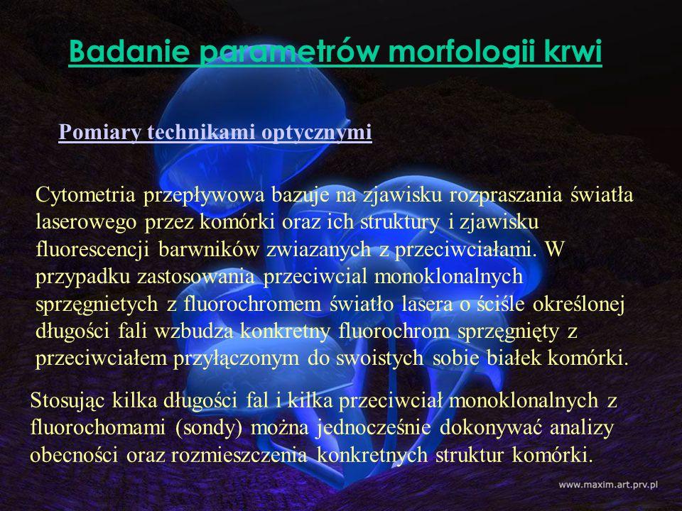 Badanie parametrów morfologii krwi
