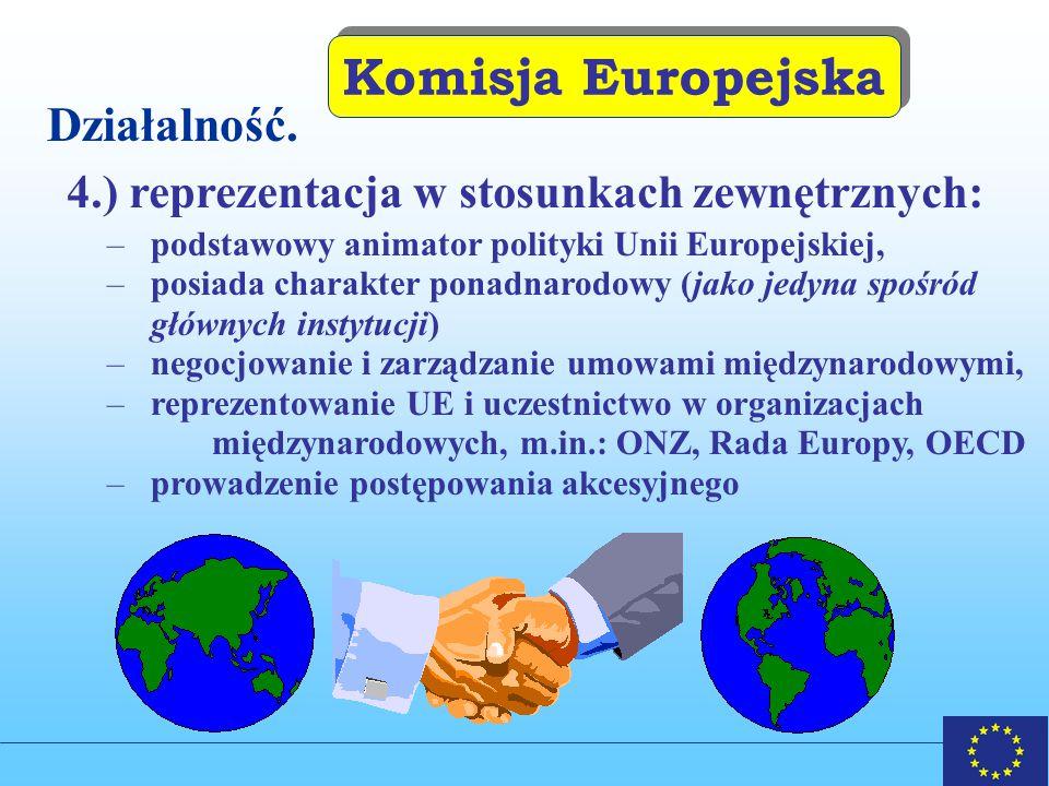 Komisja Europejska Działalność.
