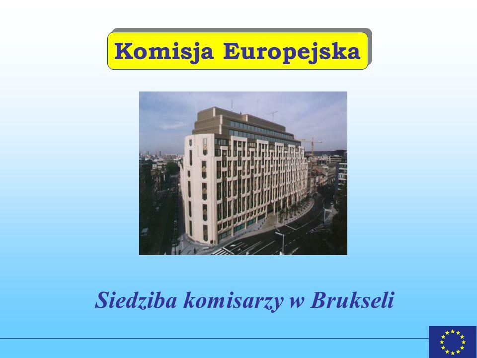 Siedziba komisarzy w Brukseli