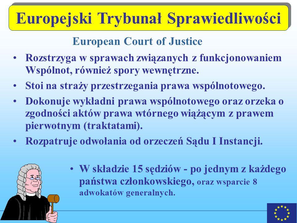 Europejski Trybunał Sprawiedliwości