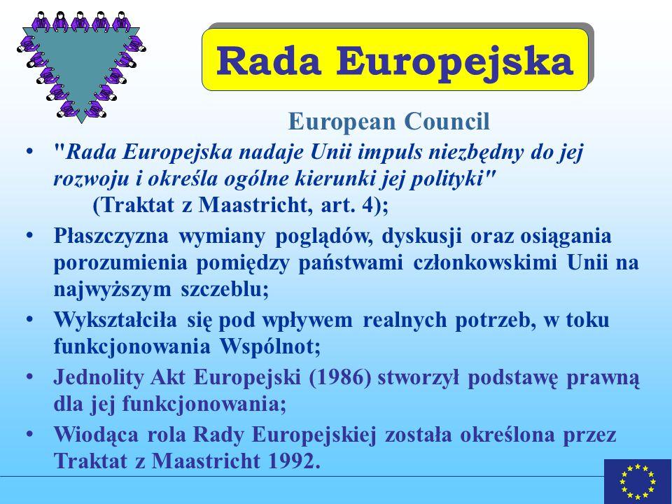 Rada Europejska European Council