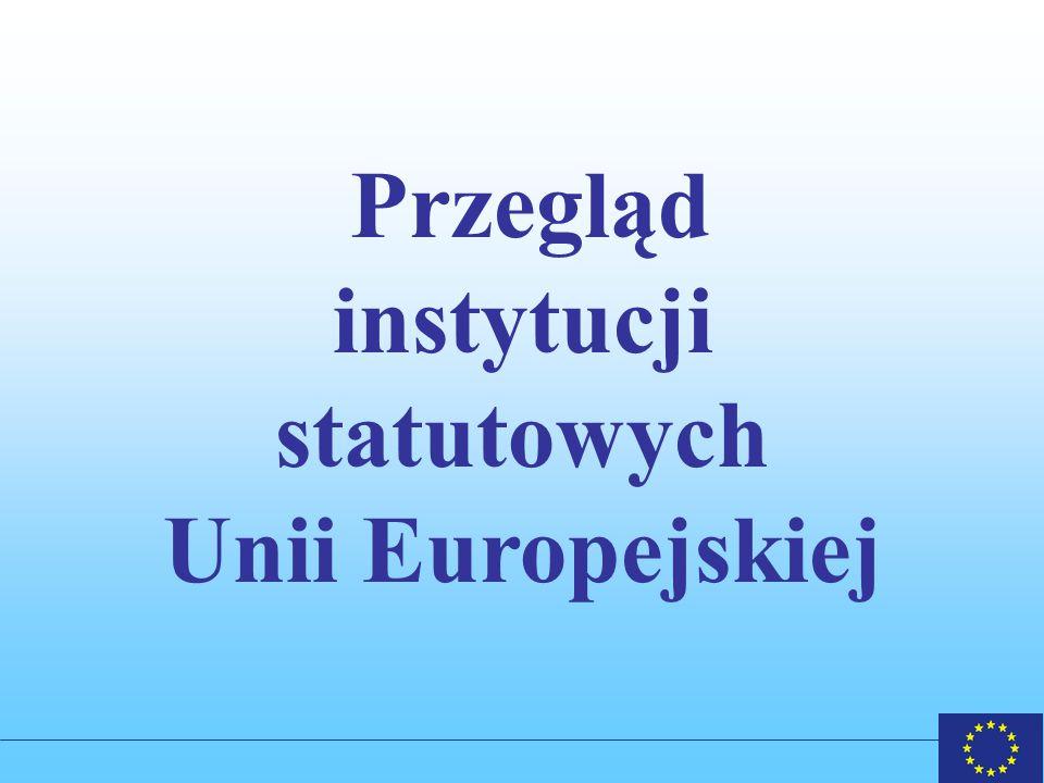 instytucji statutowych Unii Europejskiej