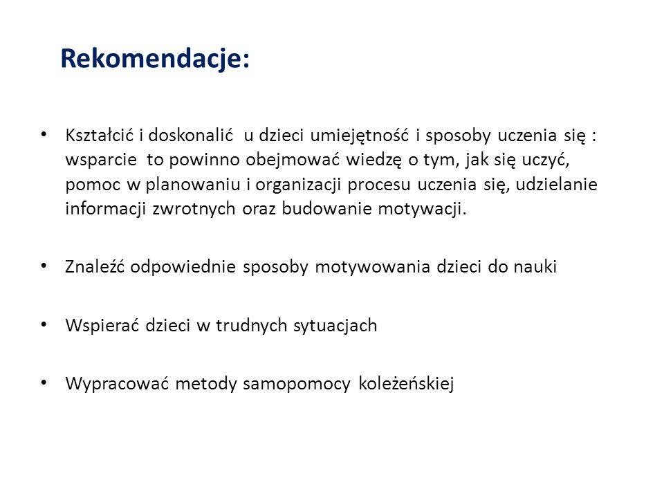 Rekomendacje:
