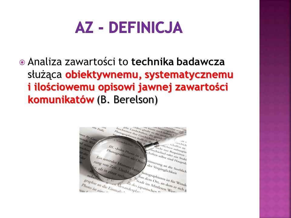 AZ - definicja