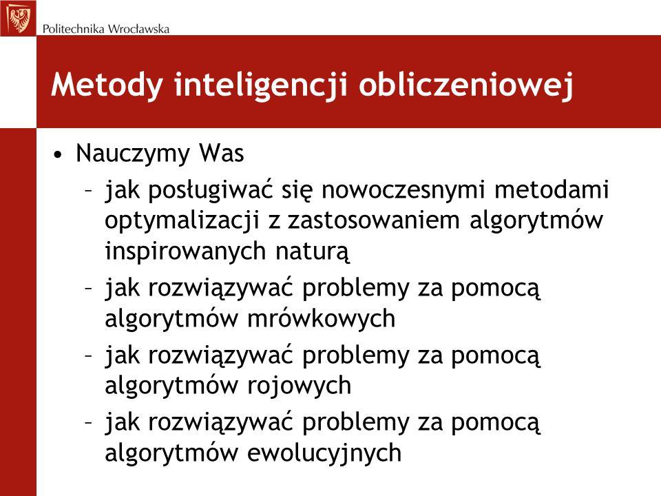 Metody inteligencji obliczeniowej