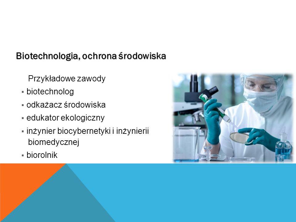 Biotechnologia, ochrona środowiska