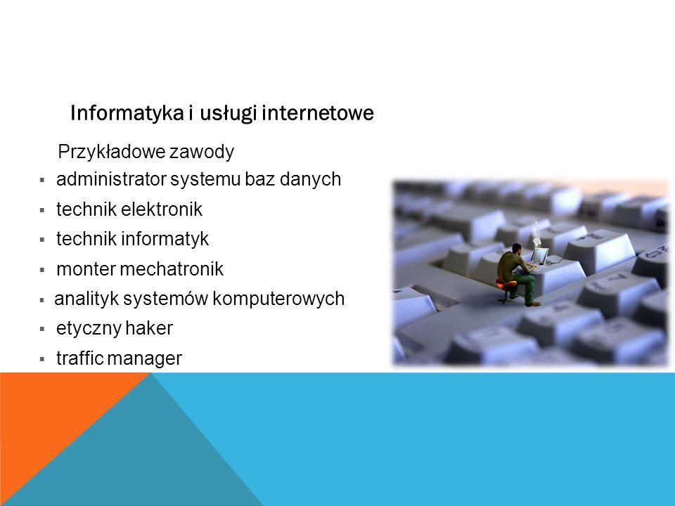Informatyka i usługi internetowe