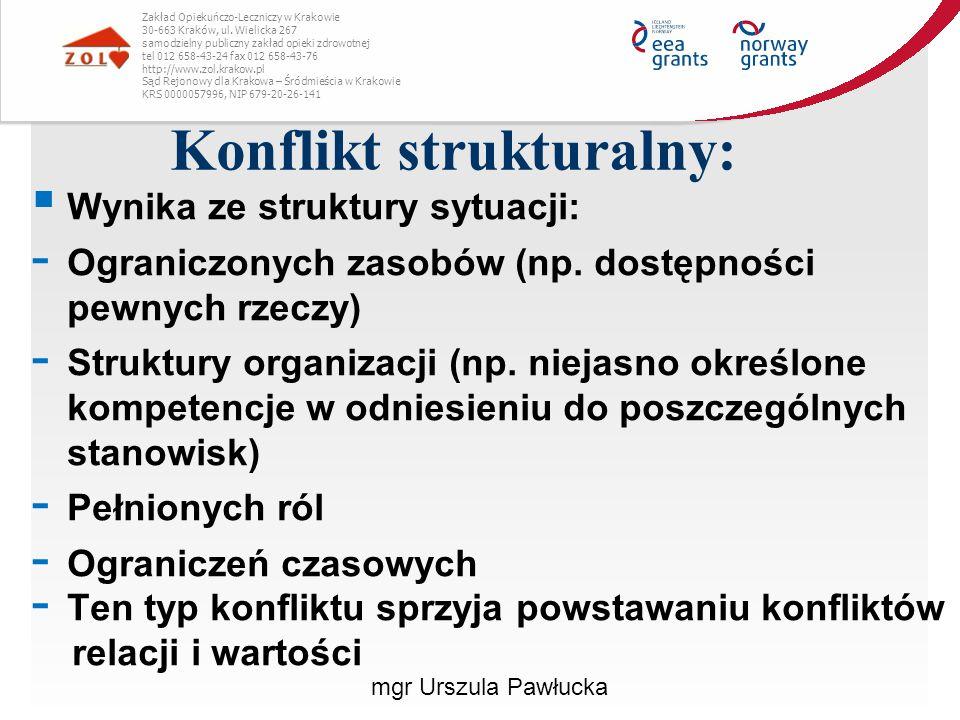 Konflikt strukturalny: