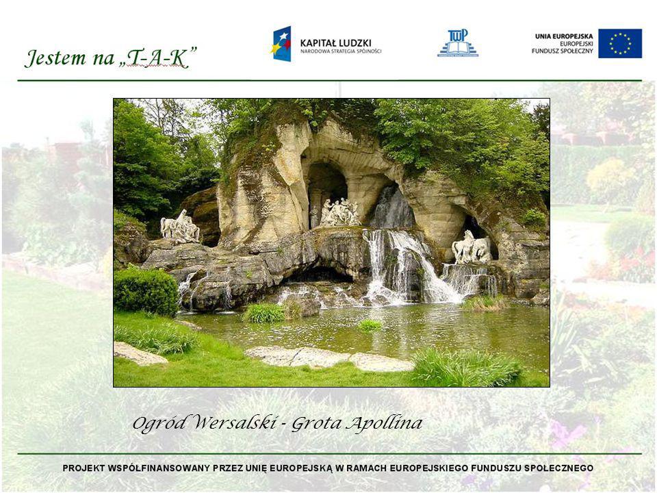 Ogród Wersalski - Grota Apollina