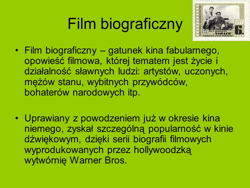 Film biograficzny