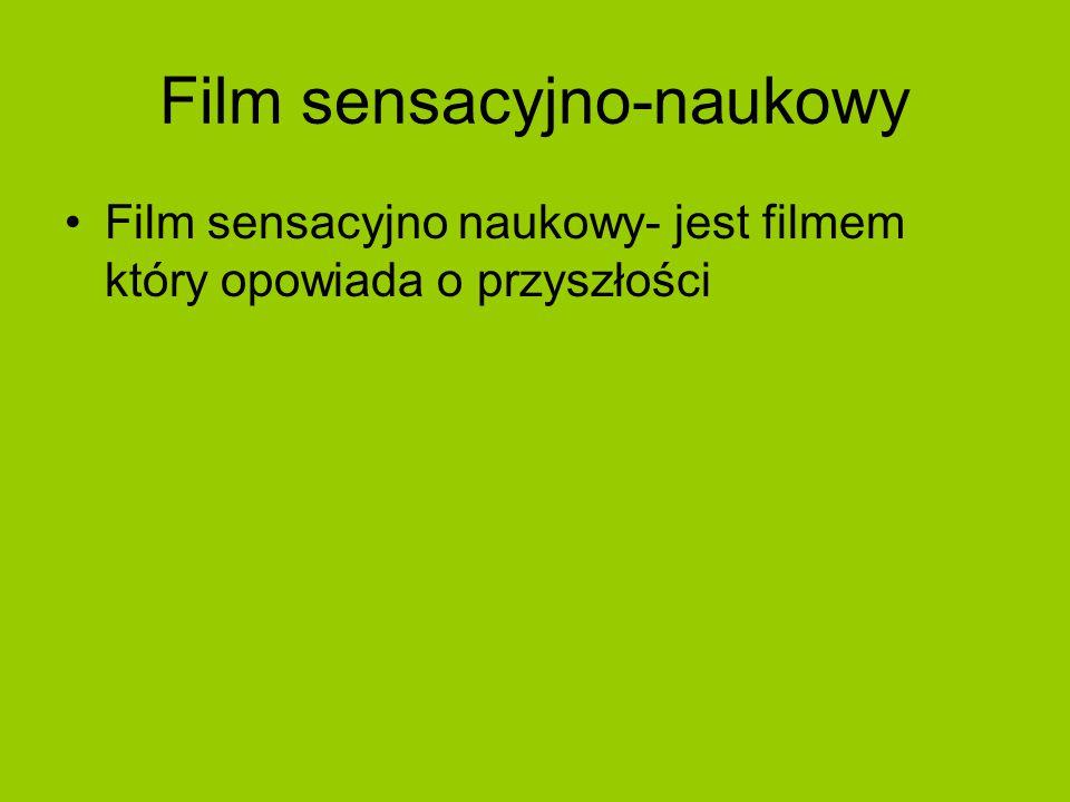 Film sensacyjno-naukowy