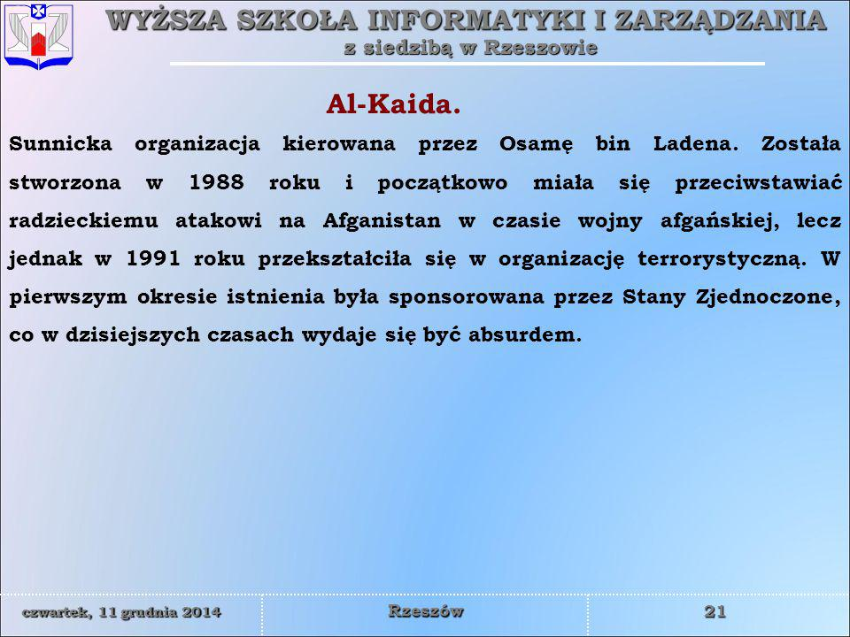 Al-Kaida.