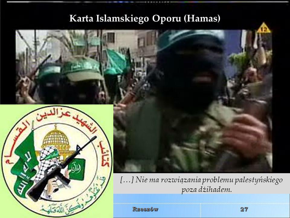 Karta Islamskiego Oporu (Hamas)