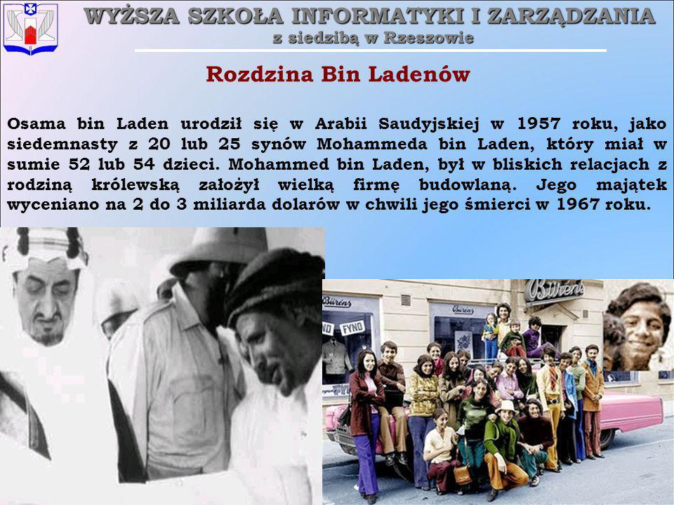 Rozdzina Bin Ladenów