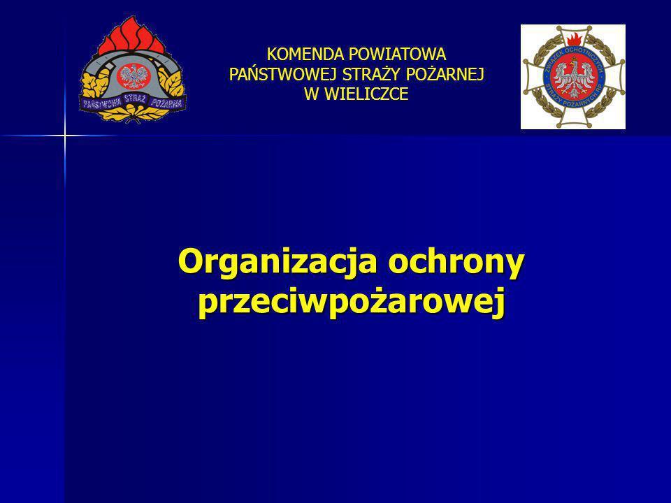 Organizacja ochrony przeciwpożarowej