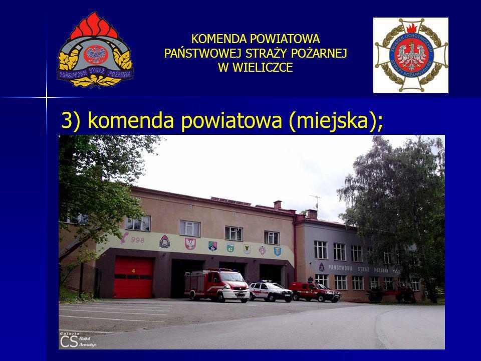 3) komenda powiatowa (miejska);